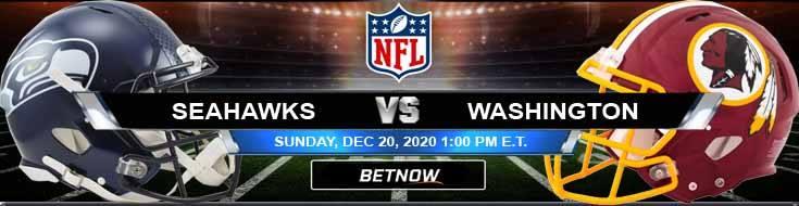 Seattle Seahawks vs Washington Football Team 12-20-2020 Results Football Betting and Odds