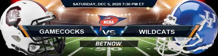 South Carolina Gamecocks vs Kentucky Wildcats 12-5-2020 NCAAF Game Analysis Tips & Spread