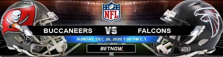 Tampa Bay Buccaneers vs Atlanta Falcons 12-20-2020 Football Betting Odds and Picks
