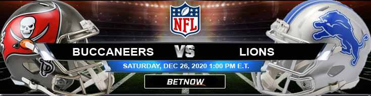 Tampa Bay Buccaneers vs Detroit Lions 12-26-2020 Picks Predictions and Previews
