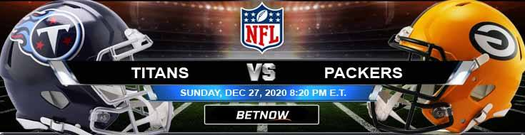 Tennessee Titans vs Green Bay Packers 12-27-2020 NFL Previews Spread and Game Analysis
