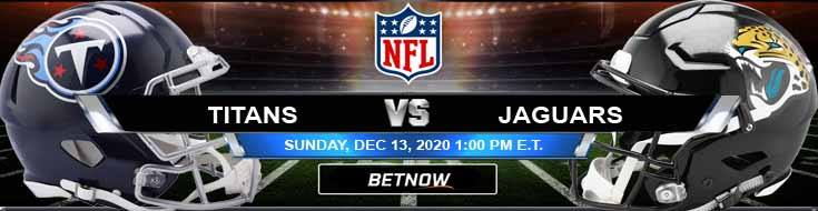 Tennessee Titans vs Jacksonville Jaguars 12-13-2020 Forecast Analysis and Results