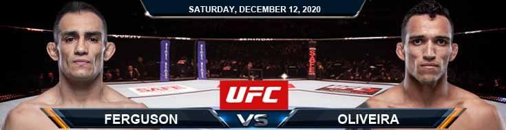 UFC 256 Ferguson vs Oliveira 12-12-2020 Picks Predictions and Previews