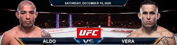UFC Fight Night 183 Aldo vs Vera 12-19-2020 Predictions Previews and Spread