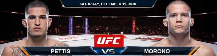 UFC Fight Night 183 Pettis vs Morono 12-19-2020 Picks Predictions and Previews