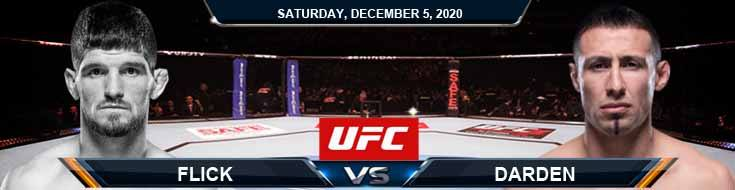 UFC on ESPN 19- Flick vs Durden 12-05-2020 Tips Results and Analysis