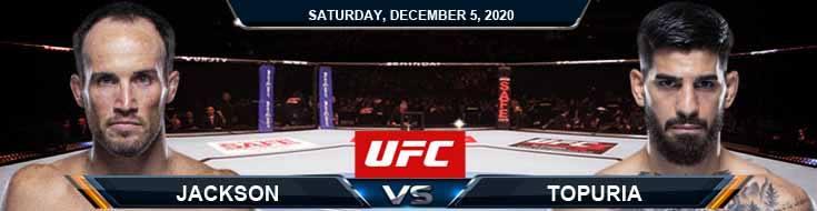 UFC on ESPN 19 Topuria vs Jackson 12-05-2020 Results Analysis and Odds