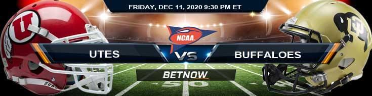 Utah Utes vs Colorado Buffaloes12-11-2020 NCAAF Tips Previews & Game Analysis