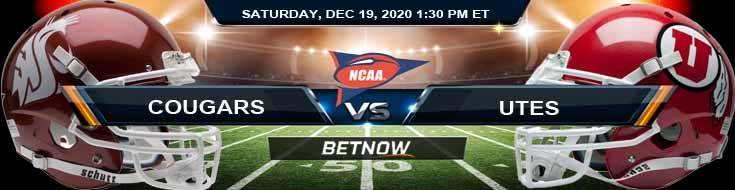 Washington State Cougars vs Utah Utes 12-19-2020 NCAAF Predictions Previews & Spread