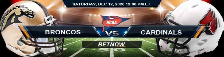 Western Michigan Broncos vs Ball State Cardinals 12-12-2020 Tips NCAAF Odds & Picks