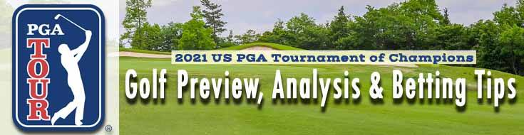 2021 US PGA Tournament of Champions Golf