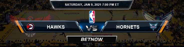 Atlanta Hawks vs Charlotte Hornets 1-9-2021 Spread Picks and Previews