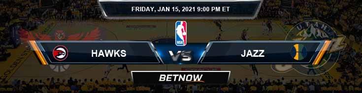 Atlanta Hawks vs Utah Jazz 1-15-2021 Spread Picks and Game Analysis