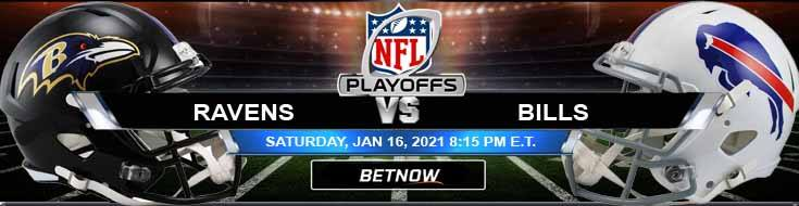 Baltimore Ravens vs Buffalo Bills 01/16/2021 AFC Divisional Playoffs, Predictions and Previews