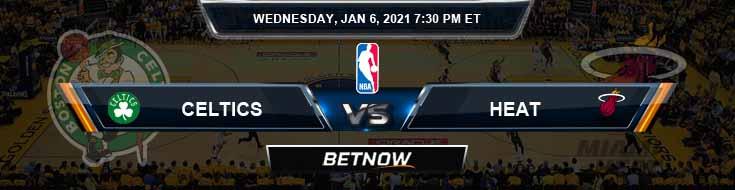 Boston Celtics vs Miami Heat 1-6-2021 Spread Picks and Game Analysis