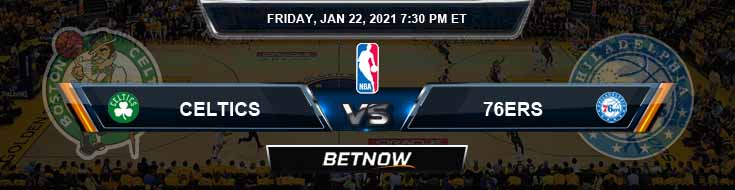 Boston Celtics vs Philadelphia 76ers 1-22-2021 Odds Picks and Previews