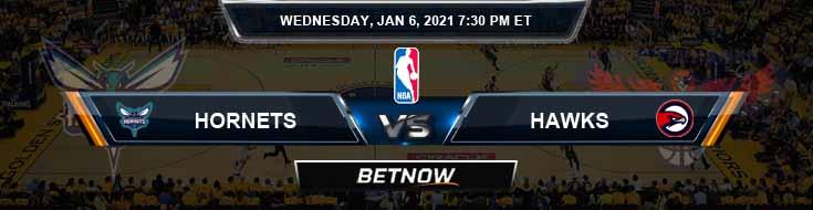 Charlotte Hornets vs Atlanta Hawks 1-6-2021 NBA Picks and Game Analysis