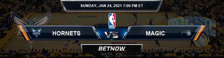 Charlotte Hornets vs Orlando Magic 1-24-2021 Spread Picks and Previews