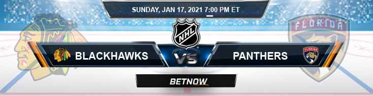 Chicago Blackhawks vs Florida Panthers 01-17-2021 Forecast Analysis and Results