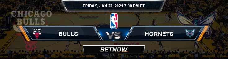 Chicago Bulls vs Charlotte Hornets 1-22-2021 Spread Picks and Previews