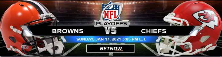 Cleveland Browns vs Kansas City Chiefs 01/17/2021 Game Analysis, Spread and AFC Divisional Playoffs