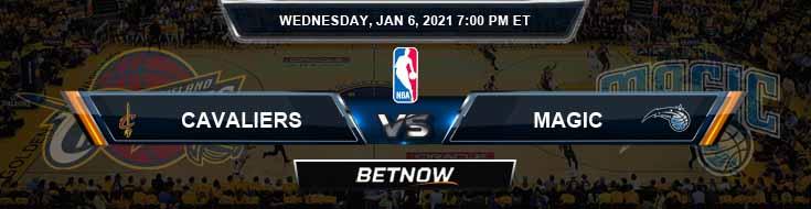 Cleveland Cavaliers vs Orlando Magic 1/6/2021 Odds Picks and Previews