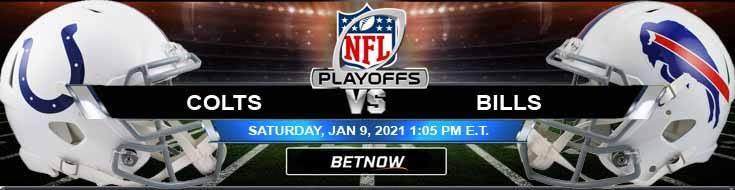 Indianapolis Colts vs Buffalo Bills 01/09/2021 Odds, AFC Wild Card Playoffs and Picks
