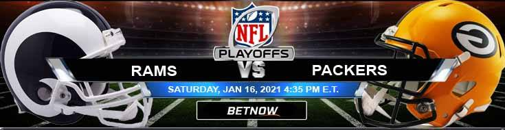 Los Angeles Rams vs Green Bay Packers 01-16-2021 Odds NFC Divisional Playoffs and Picks