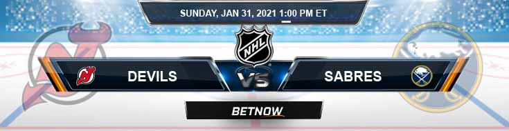 New Jersey Devils vs Buffalo Sabres 01-31-2021 Game Analysis Tips and NHL Forecast