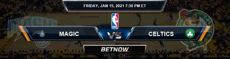 Orlando Magic vs Boston Celtics 1-15-2021 Spread Picks and Prediction