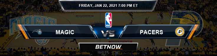 Orlando Magic vs Indiana Pacers 1-22-2021 Odds Picks and Prediction
