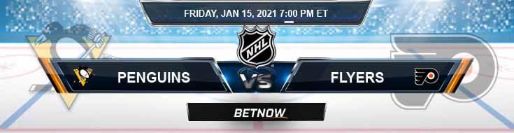 Pittsburgh Penguins vs Philadelphia Flyers 01-15-2021 Game Analysis Tips and Betting Forecast