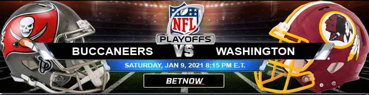 Tampa Bay Buccaneers vs Washington Football Team 01/09/2021 Game Analysis, Spread and NFC Wild Card Playoffs