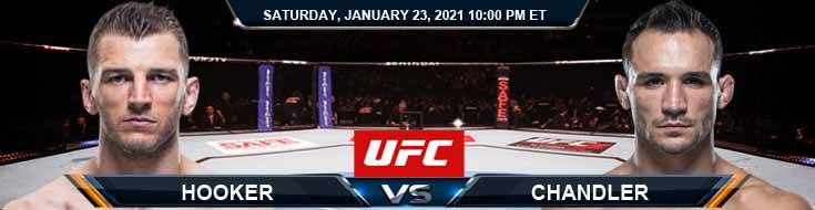 UFC 257 Hooker vs Chandler 01-23-2021 Picks Betting Predictions and Previews