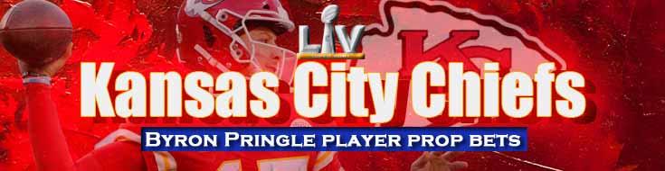 2021 NFL Kansas City Chiefs Byron Pringle Player Prop Bets