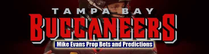 2021 NFL Tampa Bay Buccaneers Mike Evans Prop Bets and Predictions