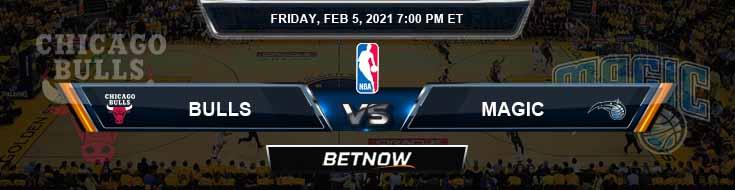 Chicago Bulls vs Orlando Magic 2-5-2021 Spread Previews and Prediction