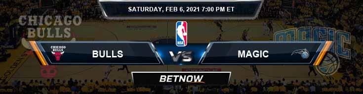 Chicago Bulls vs Orlando Magic 2-6-2021 Spread Picks and Game Analysis