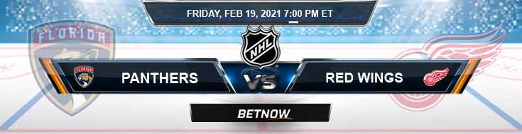 Florida Panthers vs Detroit Red Wings 02/19/2021 Spread, Game Analysis and Tips