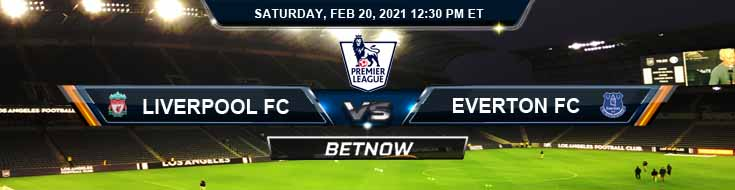 Liverpool FC vs Everton FC 02-20-2021 Results Odds and Picks