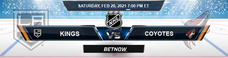 Los Angeles Kings vs Arizona Coyotes 02/20/2021 Tips, Forecast and Analysis