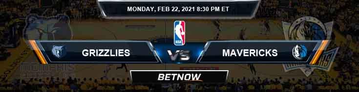 Memphis Grizzlies vs Dallas Mavericks 2-22-2021 NBA Picks and Previews