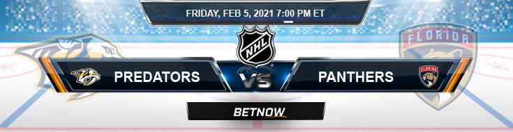 Nashville Predators vs Florida Panthers 02/05/2021 Spread, Game Analysis and Tips