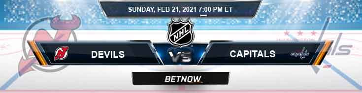 New Jersey Devils vs Washington Capitals 02/21/2021 Results, Hockey Betting and Odds