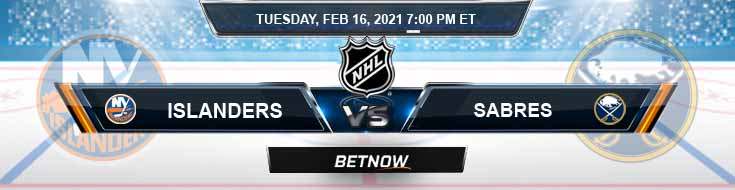 New York Islanders vs Buffalo Sabres 02-16-2021 Picks NHL Predictions and Previews