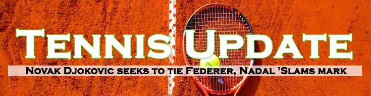 Novak Djokovic Seeks to Tie Federer Nadal 'Slams Mark