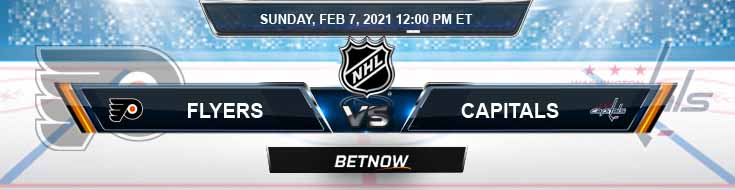 Philadelphia Flyers vs Washington Capitals 02-07-2021 Tips NHL Forecast and Analysis