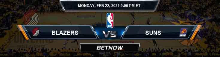 Portland Trail Blazers vs Phoenix Suns 2-22-2021 NBA Spread and Picks