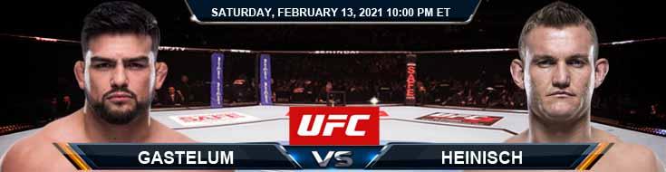 UFC 258 Gastelum vs Heinisch 02-13-2021 Predictions Previews and Spread