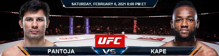 UFC Fight Night 184 Pantoja vs Kape 02-06-2021 Previews Spread and Fight Analysis